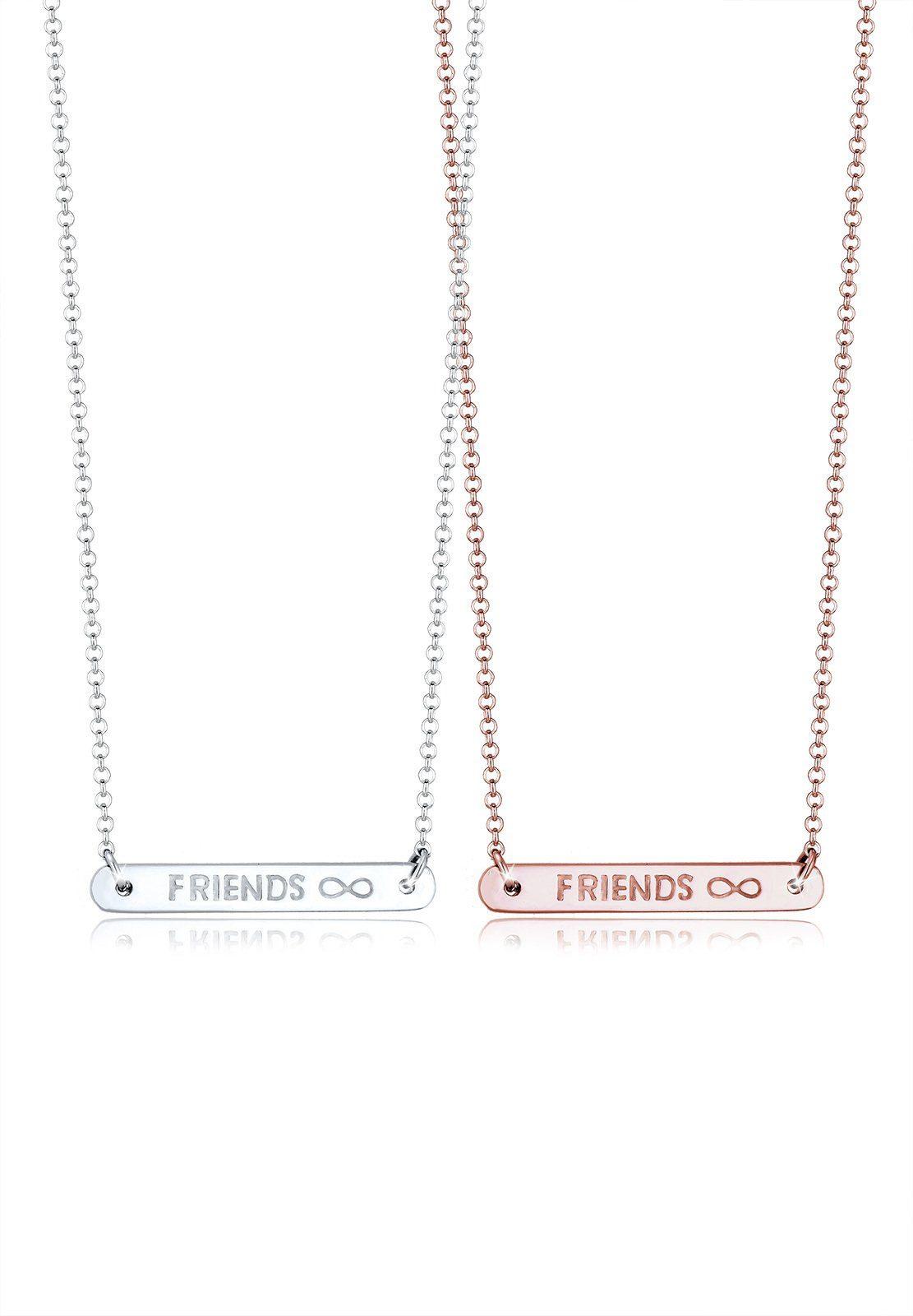 Elli Ketten-Set »Set: Infinity Friends Freundschafts-Set 925 Silber« (Set, 2 tlg)