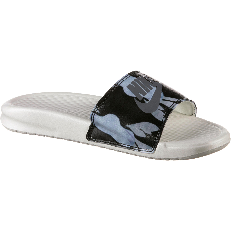 Nike Sportswear Slides BENASSI Sandale kaufen  pink-weiß-sand-olivgrün-silbergoldfarben
