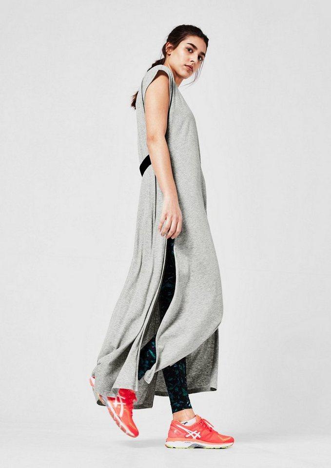 Damen s.Oliver ACTIVE Lässiges Jersey-Kleid grau | 04059502979808