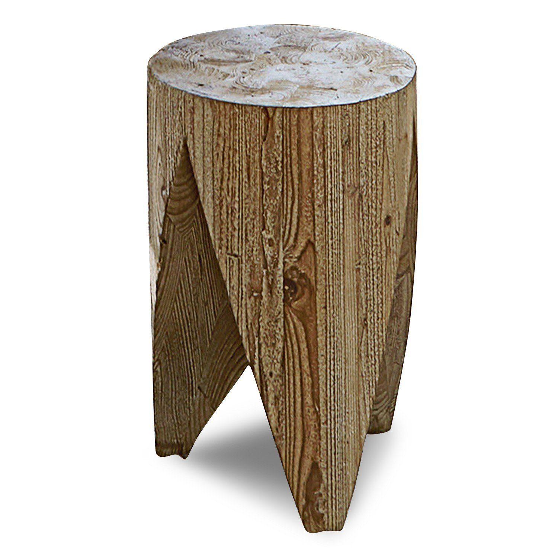 Loberon Hocker »Woodie«