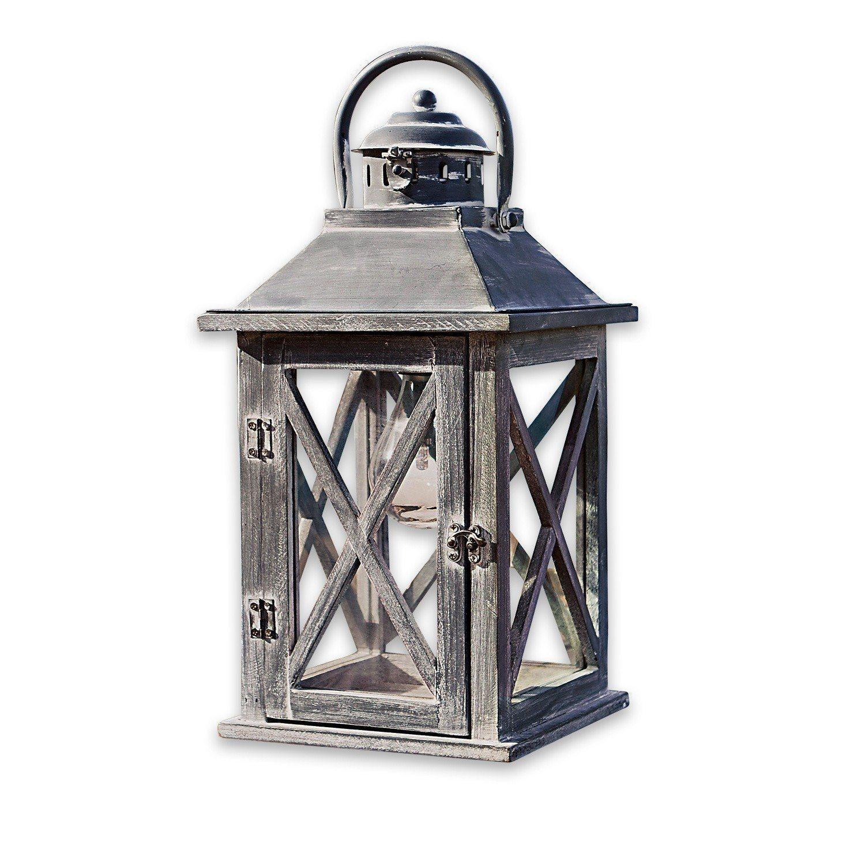 Loberon Laterne »Ealing« | Dekoration > Kerzen und Kerzenständer > Laternen | Glas - Eisen | Loberon