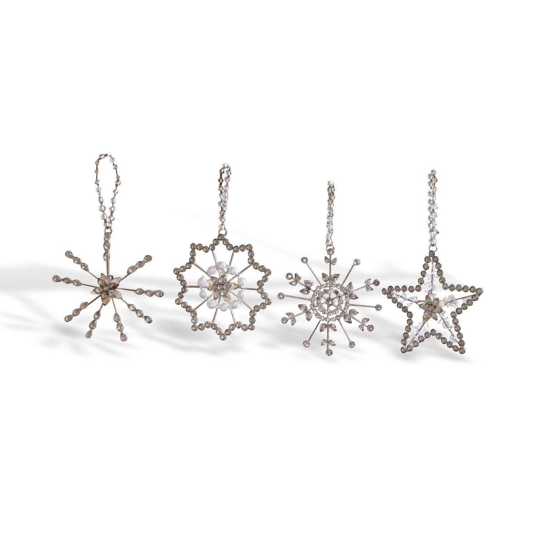 Loberon Weihnachtsschmuck 4er Set »Pierette«