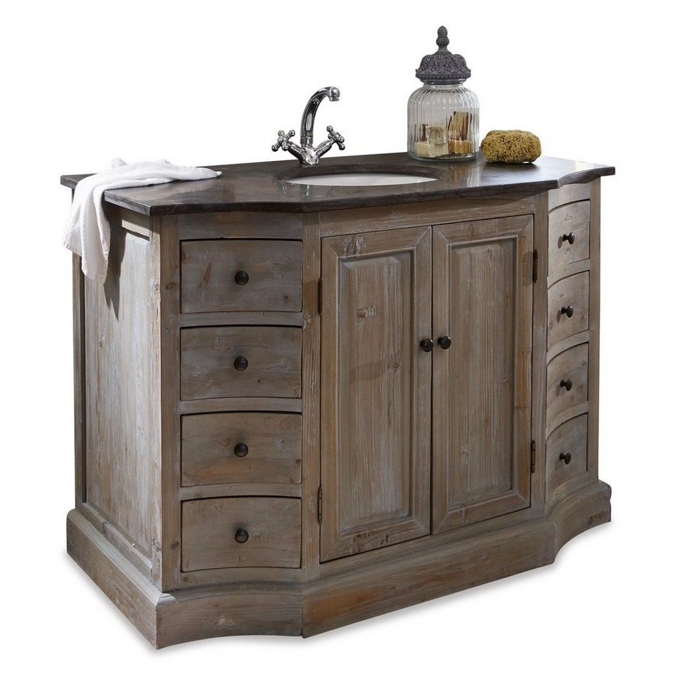 loberon waschtisch manaurie massives wiederaufbereitetes tannenholz online kaufen otto. Black Bedroom Furniture Sets. Home Design Ideas