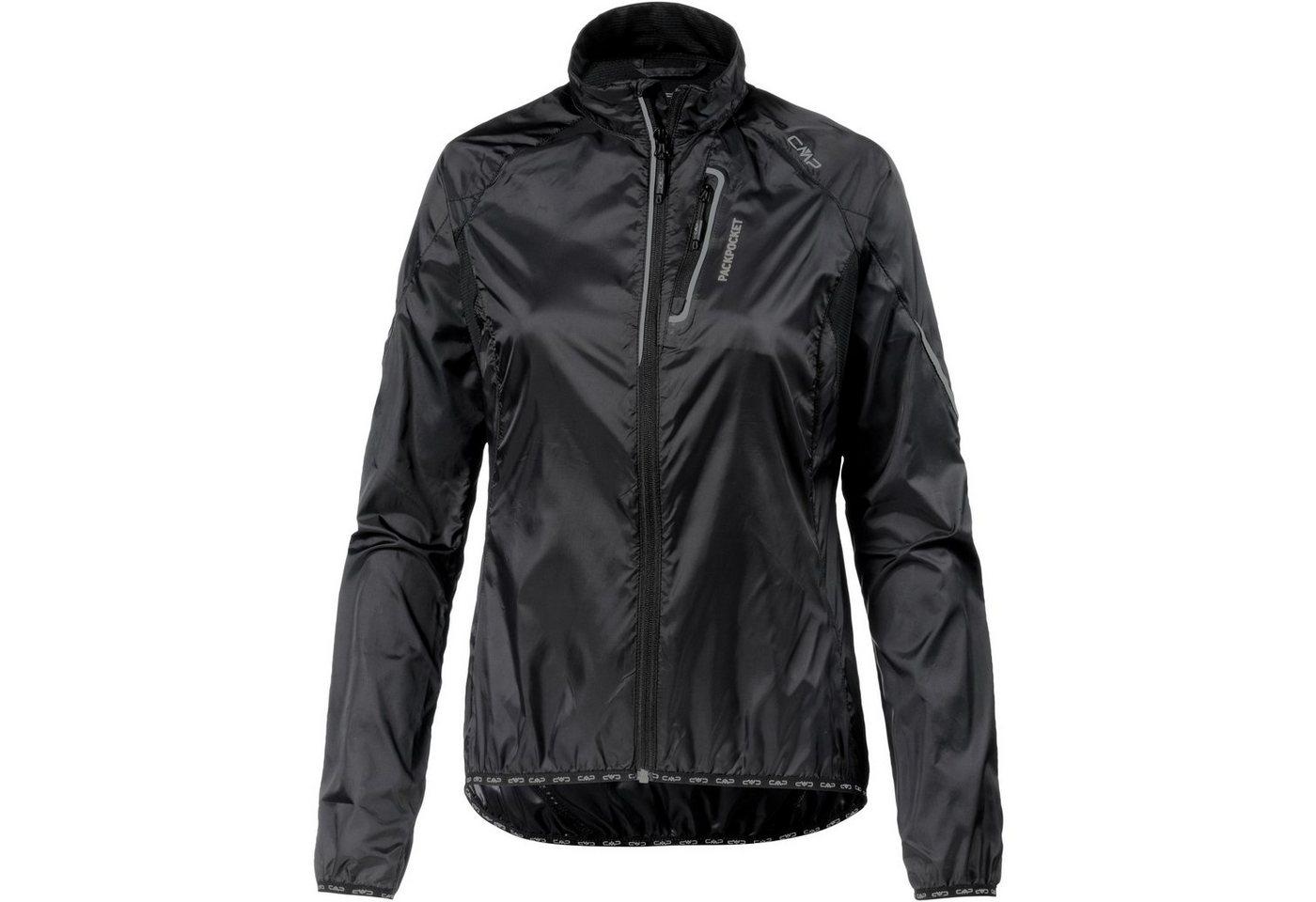 CMP Fahrradjacke »TRAIL JACKET« | Sportbekleidung > Sportjacken > Fahrradjacken | Schwarz | Polyester - Elastan | CMP