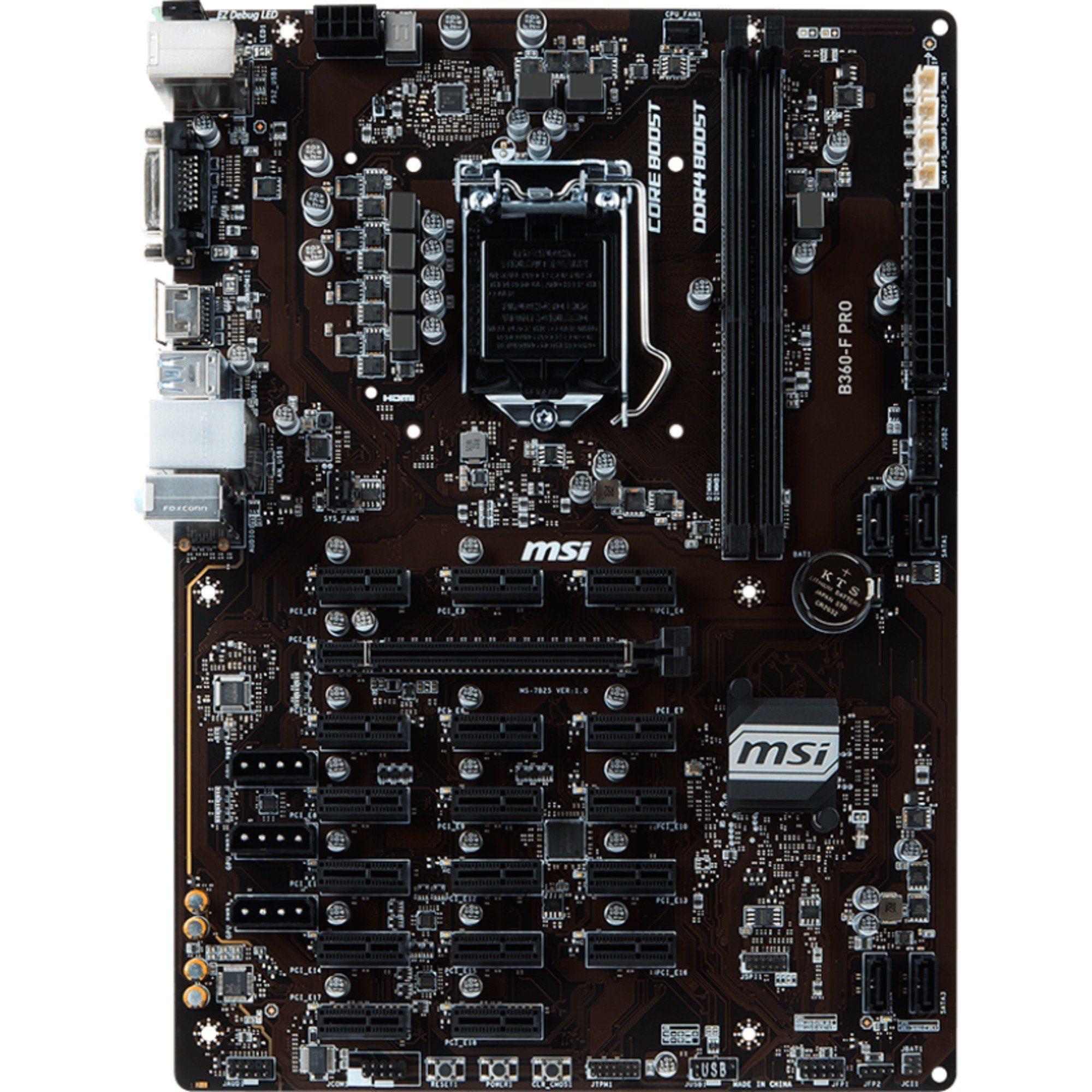 MSI Mainboard »B360-F PRO«