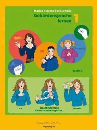 Broschiertes Buch »Gebärdensprache lernen, m. DVD«