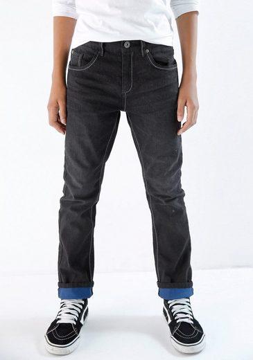 Arizona 5-Pocket-Jeans, regular fit mit schmalem Bein