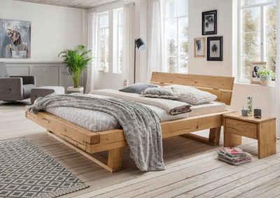 Massivholzbetten Kaufen Holzbetten Buche Eiche Otto