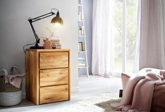 Home affaire Kommode »Zetra«, aus Massivholz, alle Schubladen mit Soft-Close-Funktion, Breite 47 cm