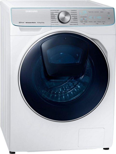 Samsung Waschtrockner QuickDrive WD8800 WD10N84INOA/EG, 10 kg/6 kg, 1400 U/Min, AddWash