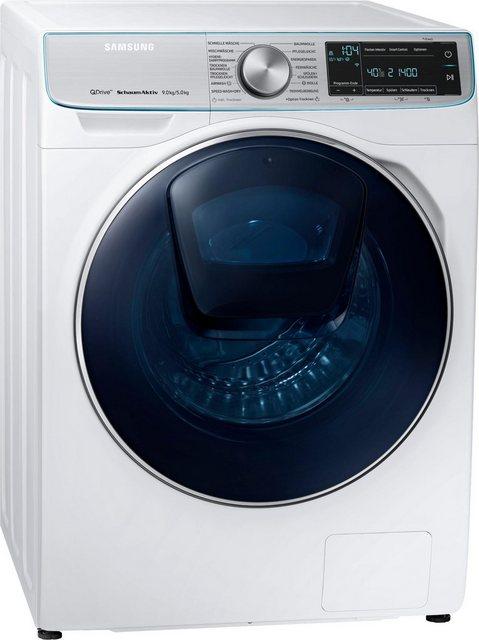 Samsung Waschtrockner QuickDrive WD7800 WD91N740NOA/EG, 9 kg/5 kg, 1400 U/Min, AddWash