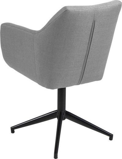 andas Armlehnstuhl »Nina« in zwei verschiedenen Bezugsqualitäten  Sitzhöhe 49 cm