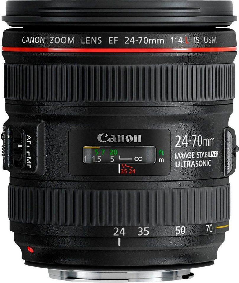 Objektive - Canon »EF24 70MM F4L IS USM« Zoomobjektiv  - Onlineshop OTTO