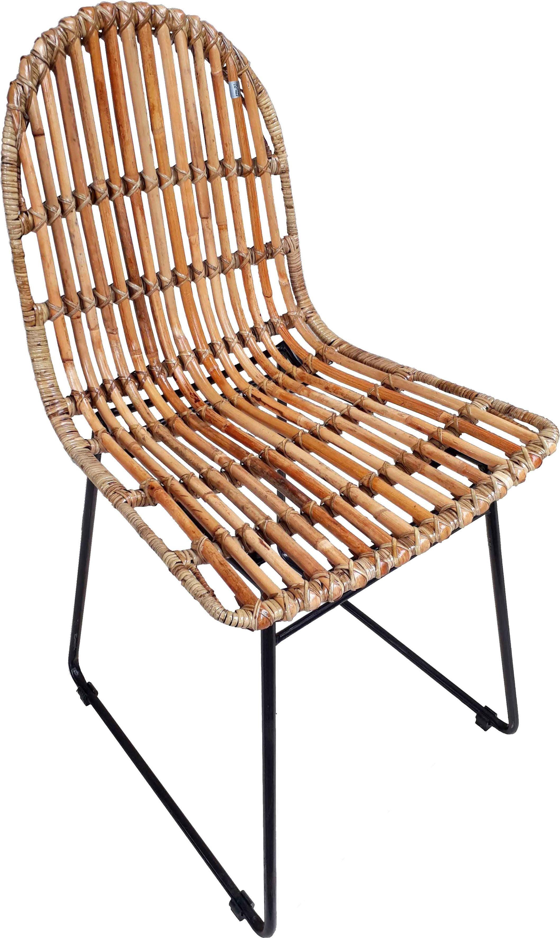 SIT Stühle »Rattan Vintage« mit modernem Kufengestell, 2er-Set