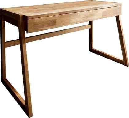 Home affaire Schreibtisch »Dura« aus Massivholz, mit Soft-Close Funktion der Schubladen