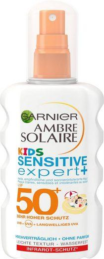 GARNIER Sonnenschutzspray »Ambre Solaire Kids Sensitive Expert LSF 50+«