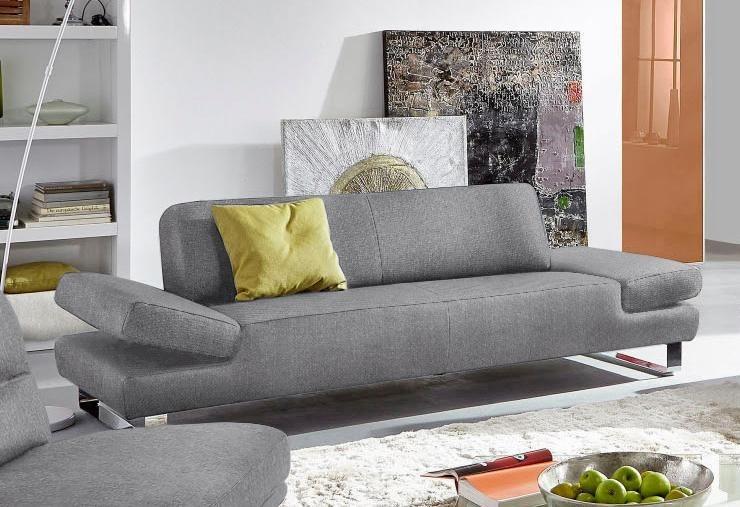 W Schillig 2 Sitzer Sofa Taboo Mit Ubertiefe Inklusive
