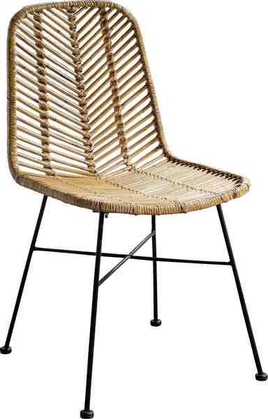 COUCH♥ Stühle »Rattan Vintage«, 2er-Set