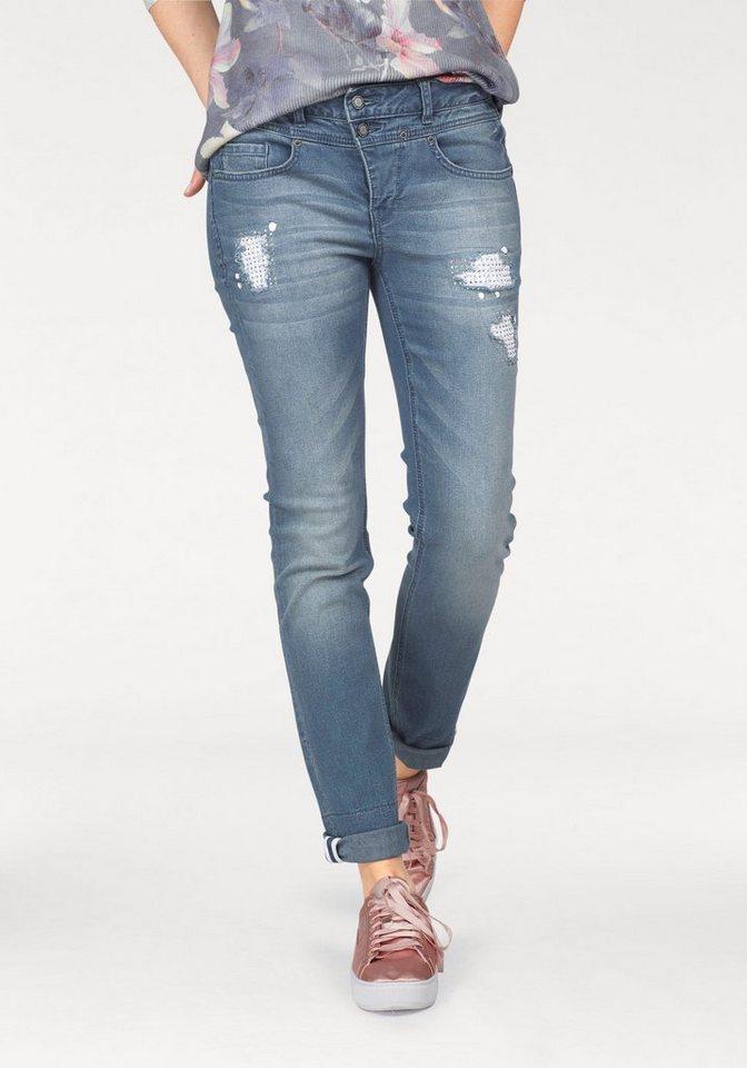 ca74cecff92d47 Laura Scott 7/8-Jeans mit aufwendigen Details | OTTO