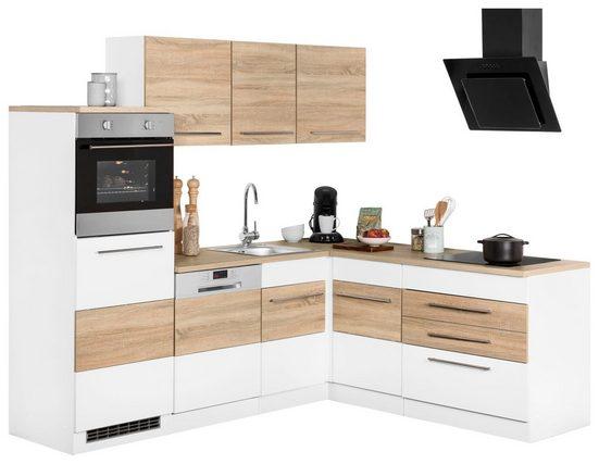 Winkelküche »Trient«, ohne E-Geräte, Stellbreite 230 x 190 cm