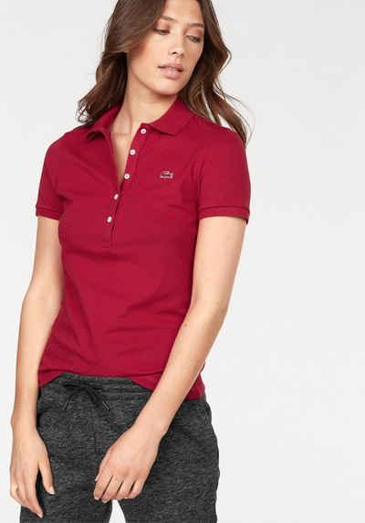 Lacoste Poloshirt mit langer Knopfleiste 23a9b31286