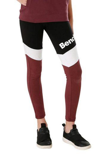 Bench. Leggings in schönen Kontrastfarben