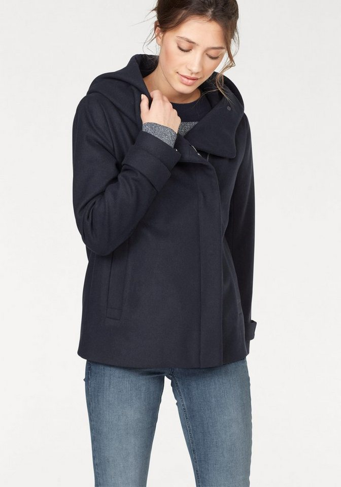Object Kurzjacke »Susan« im modischen Caban-Look   Bekleidung > Jacken > Kurzjacken   Blau   Object