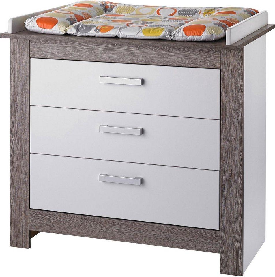 geuther wickelkommode marlene wenge lehm wei otto. Black Bedroom Furniture Sets. Home Design Ideas