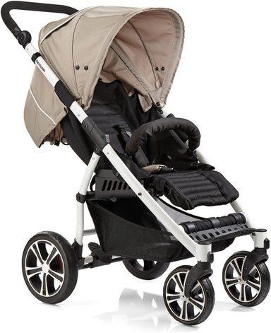 Gesslein Kinder-Buggy »S4 Air+ White, Camel/Black«, mit schwenkbaren Vorderrädern