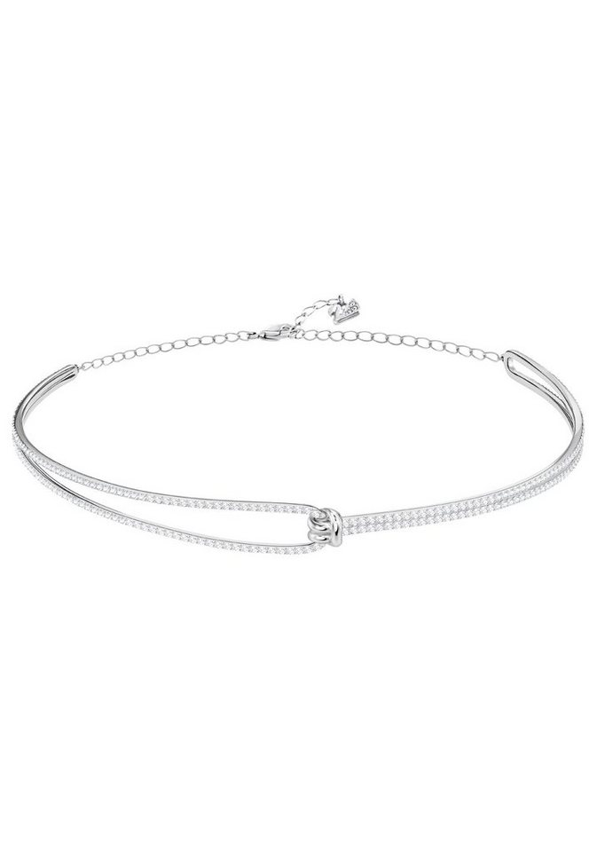 Swarovski Halsreif »Lifelong Halsband, weiss, rhodiniert, 5390822 ...