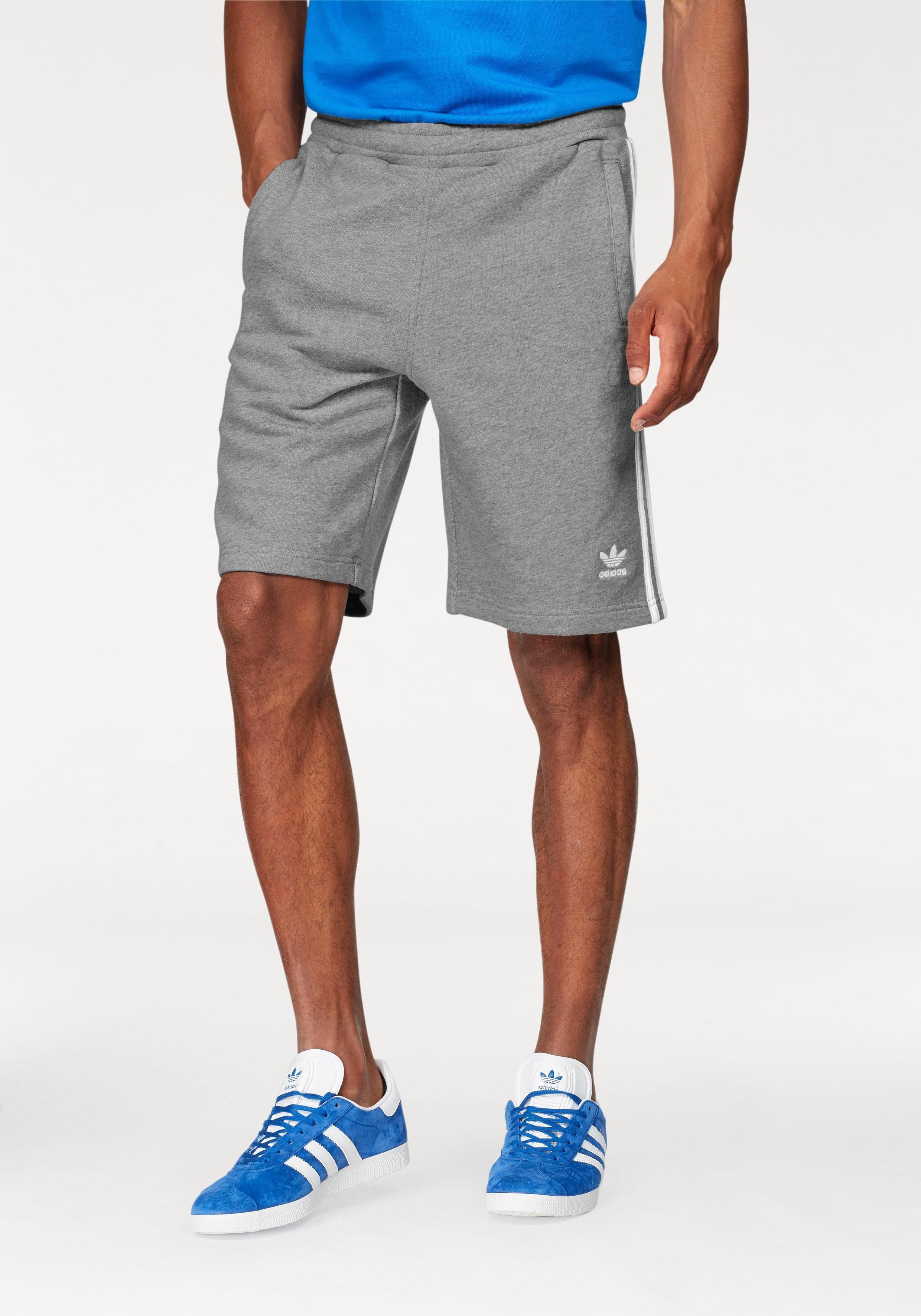 adidas originals adidas originals sweatshorts 3-stripe shorts m