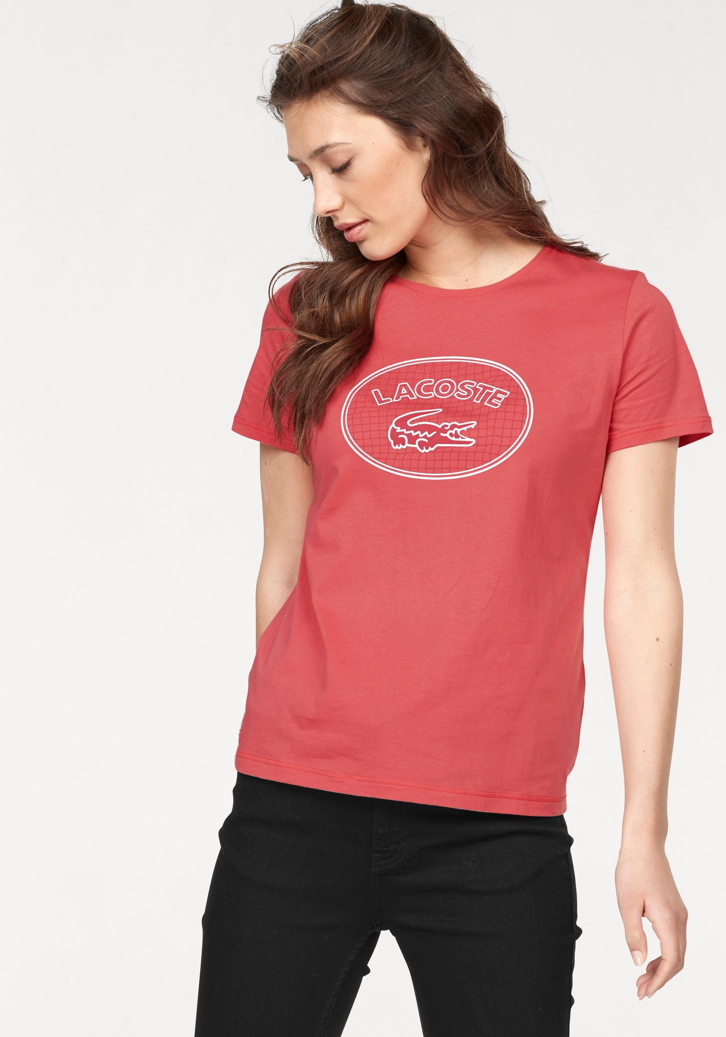 Lacoste T-Shirt mit Druck