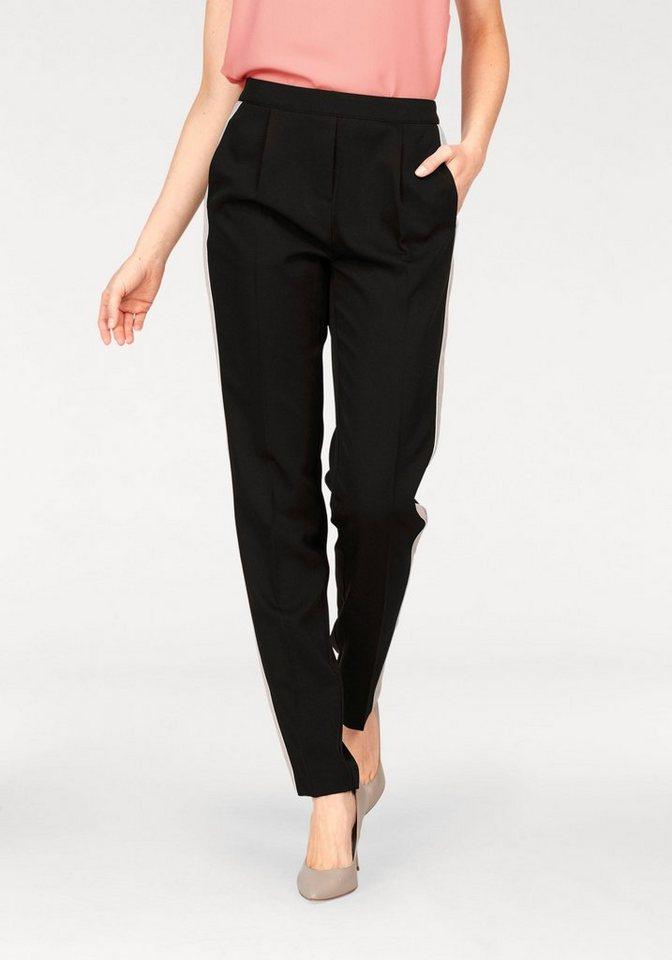 Laura Scott Anzughose mit Go-Faster Streifen | Bekleidung > Hosen > Anzughosen | Schwarz | Laura Scott