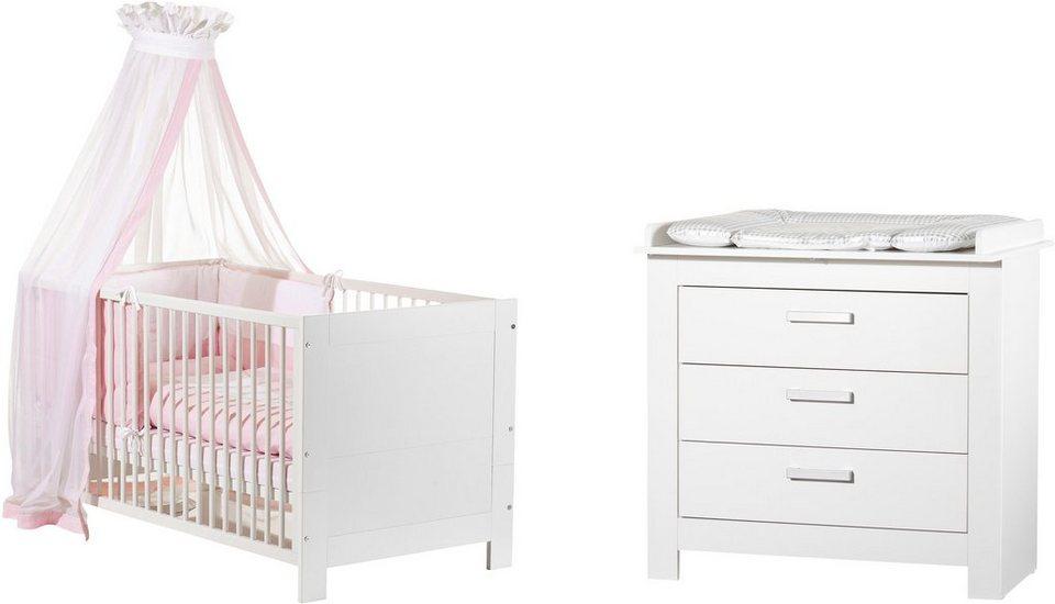 Geuther babyzimmer set 2 tlg marlene wei otto - Babyzimmer geuther ...