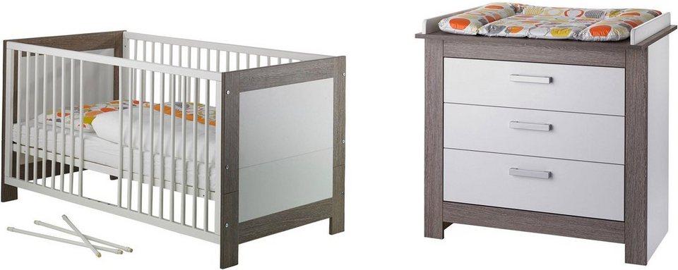 Geuther babyzimmer set 2 tlg marlene wenge lehm wei online kaufen otto - Babyzimmer geuther ...
