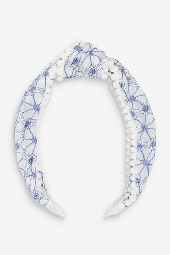 Next Haarband »Lochstickerei-Haarband mit Bommeln«, 1-tlg., None