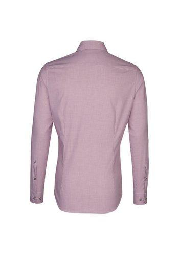 - Herren seidensticker Trachtenhemd Slim Kent-Kragen rot   04048869380877