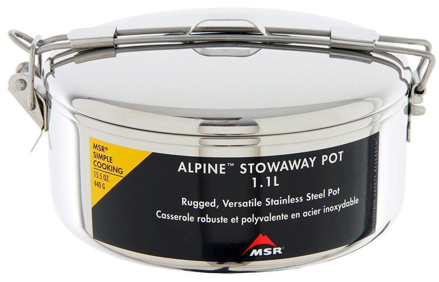 MSR Camping-Geschirr »Alpine Stowaway Pot 1,6l«