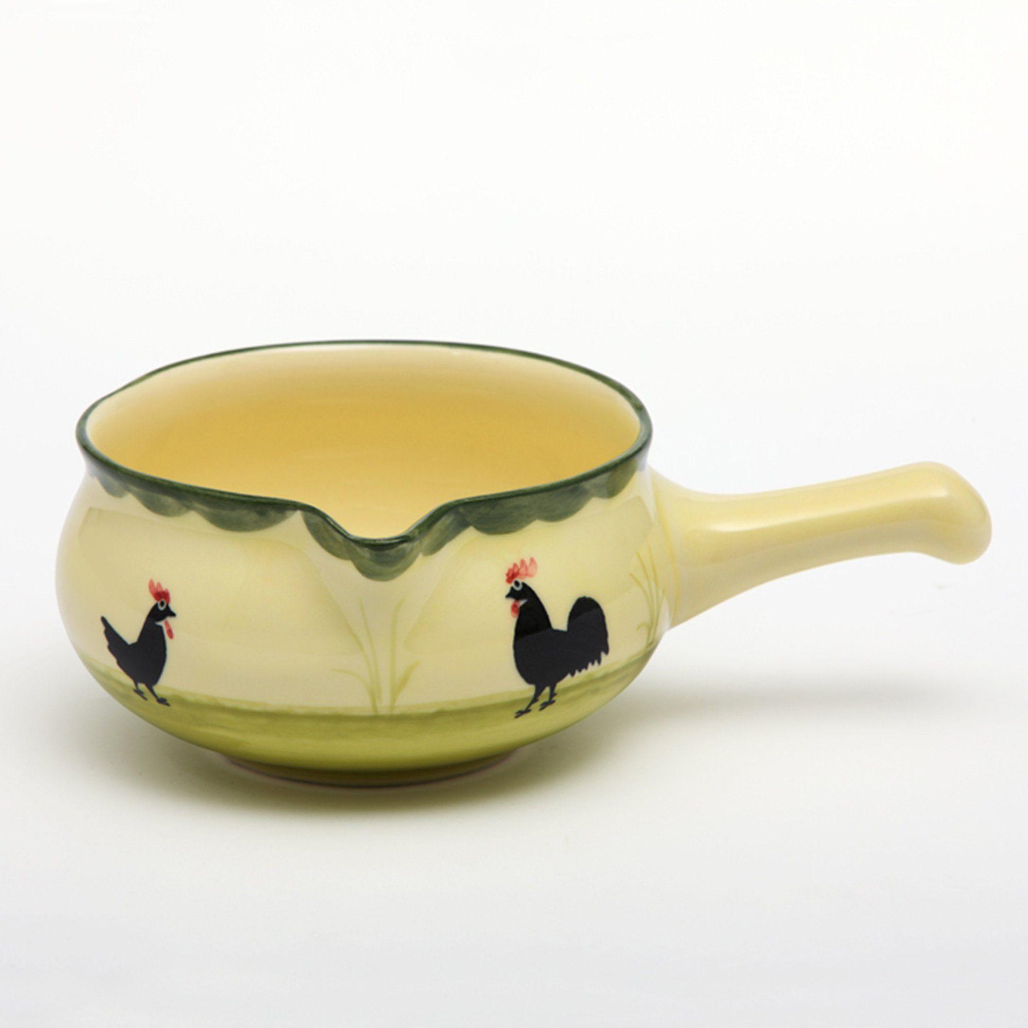 Zeller Keramik Sauciere »Hahn und Henne«