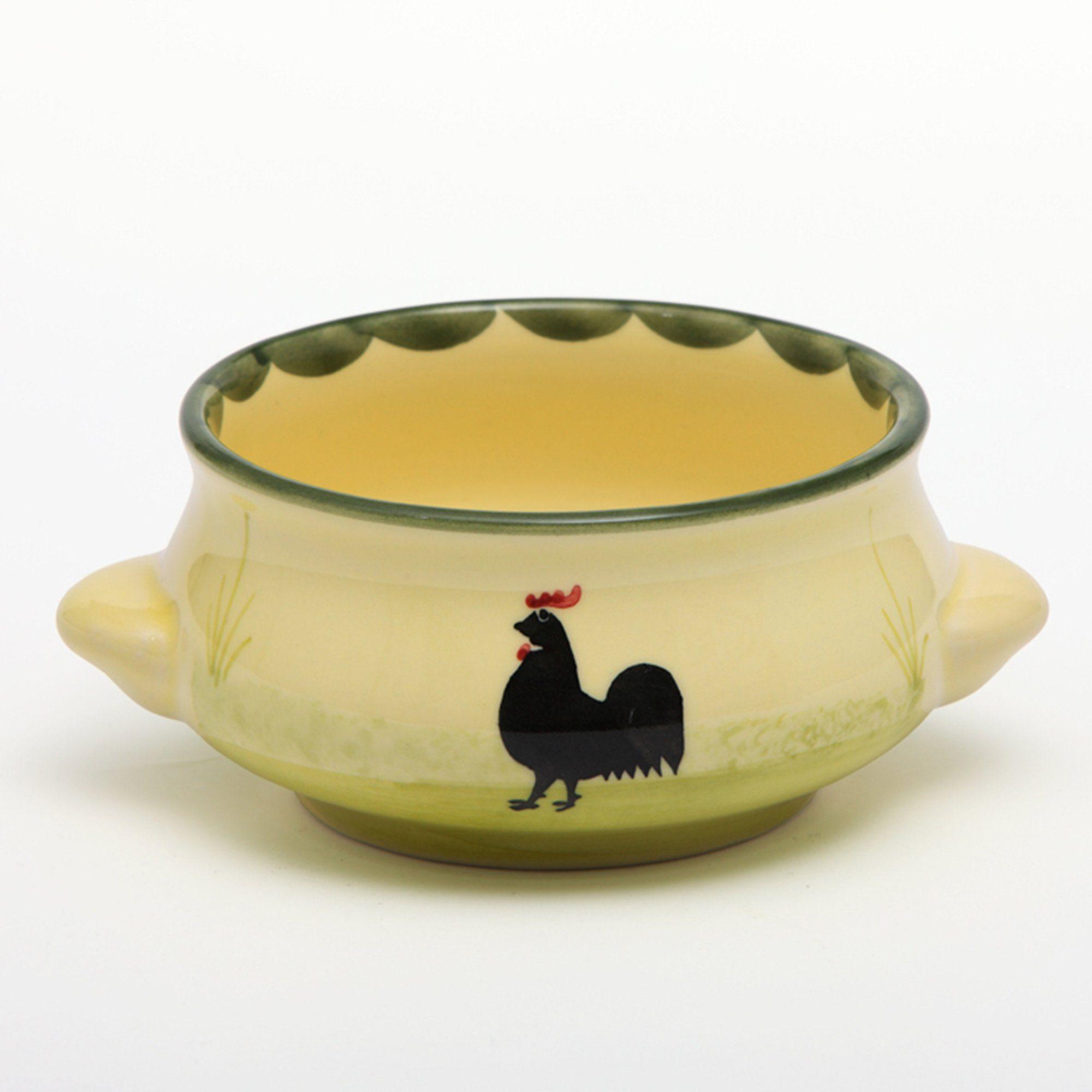 Zeller Keramik Suppenobertasse »Hahn und Henne«