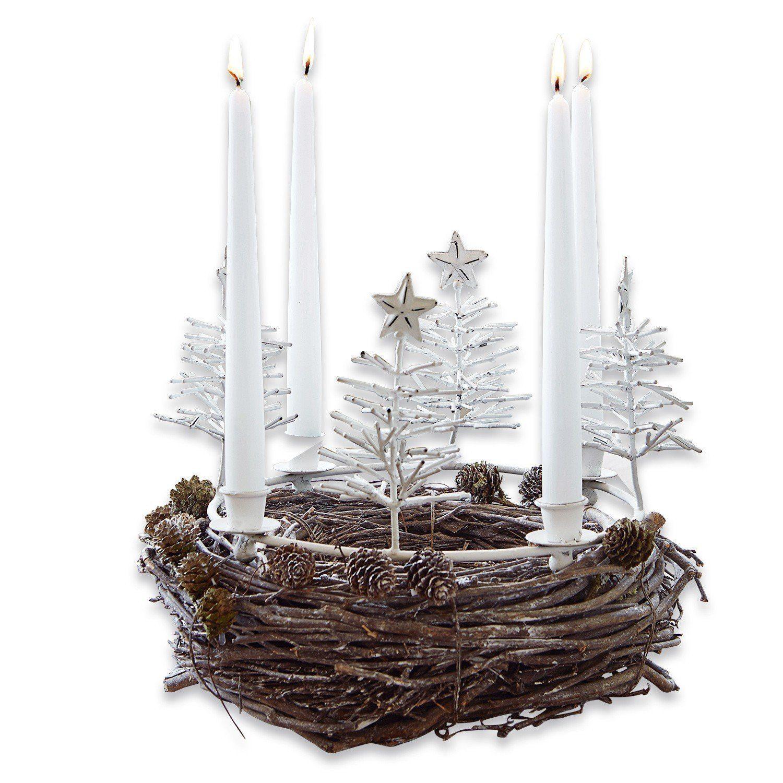 Loberon Kerzenkranz »Maryport«
