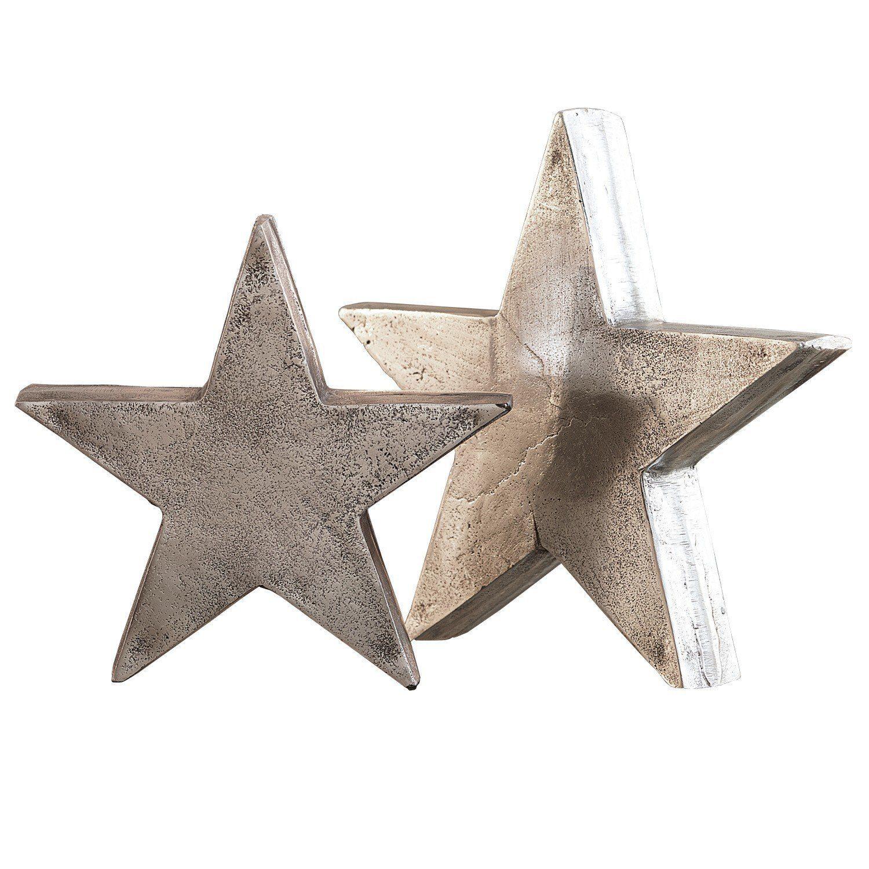 Loberon Deko-Sterne 2er Set »Big Star«