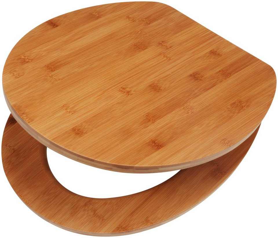 wc sitz bambus naturprodukt hochwertige verarbeitung online kaufen otto. Black Bedroom Furniture Sets. Home Design Ideas