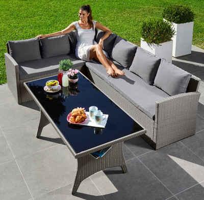 Rattan gartenmöbel grau  Gartenmöbel aus Polyrattan & Rattan online kaufen   OTTO