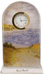 Goebel Tischuhr »Claude Monet, Strandweg Weizenfelder, 66523351«
