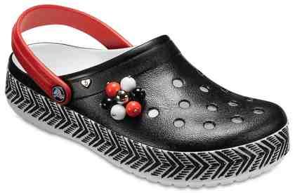 Crocs »Drew X Crocs Cb Tribal Clog« Clog, leicht zu reinigen