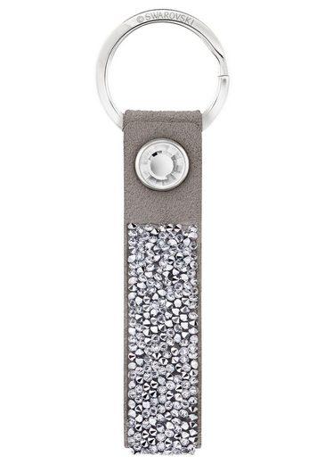 Swarovski Schlüsselanhänger »Glam Rock Gray, 5174951«, mit Swarovski® Kristallen
