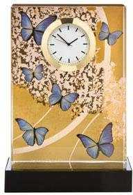 Goebel Tischuhr »Blue Butterflies, 26150631«