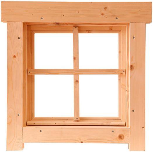 WOLFF FINNHAUS Fenster »Tanja 44«, BxH: 54x54 cm