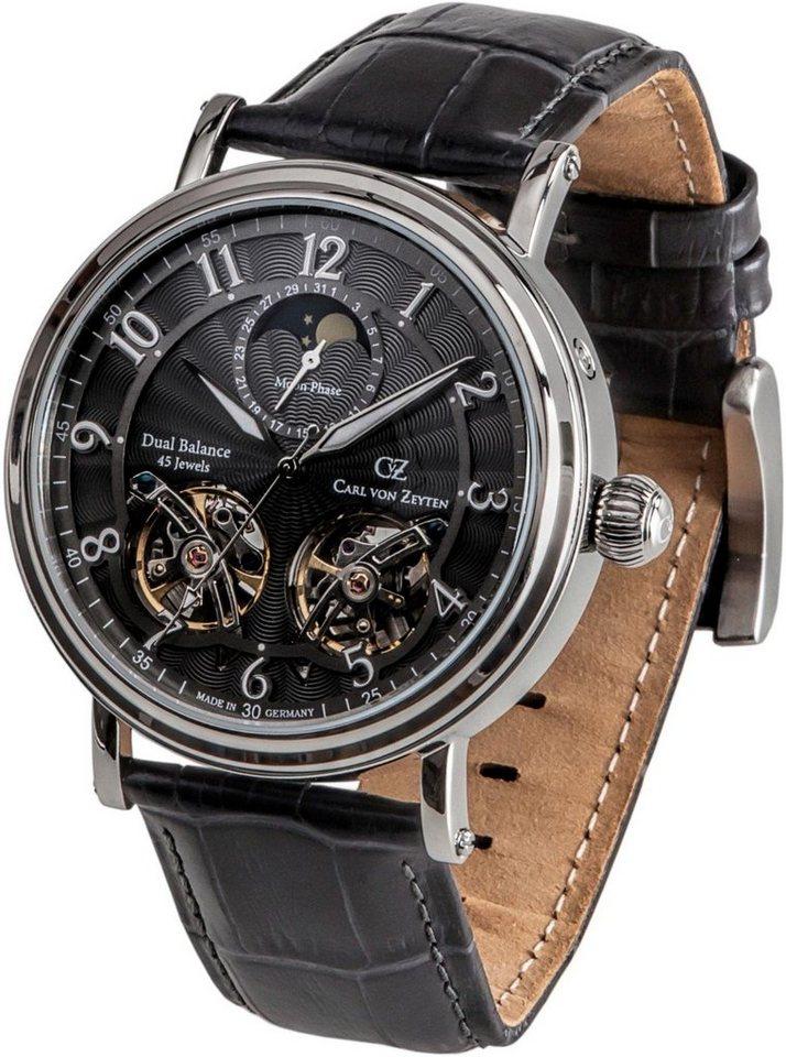 Carl von Zeyten Automatikuhr »Murg, CVZ0054GY« Made in Germany | Uhren > Automatikuhren | Grau | Carl von Zeyten